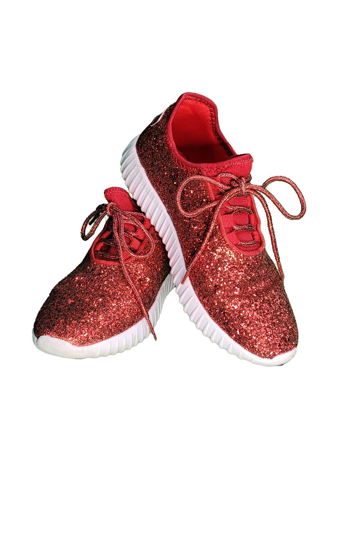 Sherri's Cute Red Sneakers