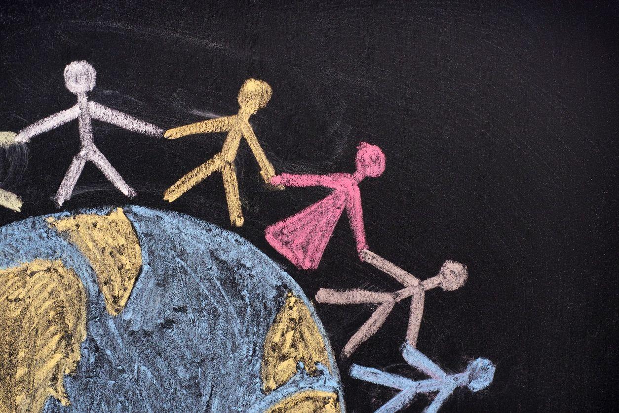 people on world