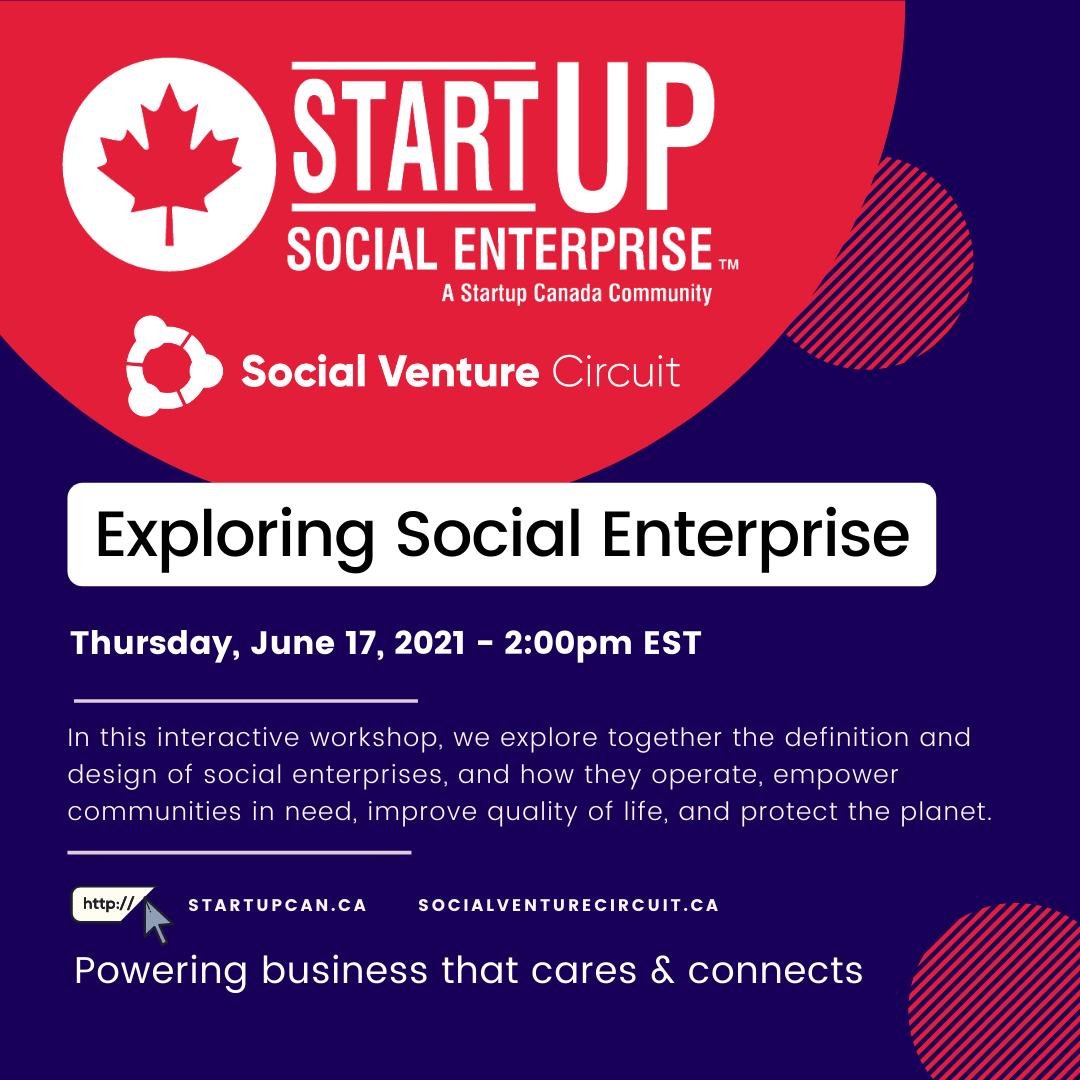 exploring social enterprise event invite