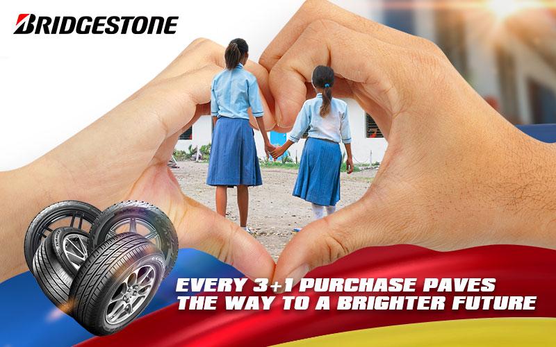 Bridgestone 3+1 Purchase Paves the way to a brighter Future | Bridgestone Tires PH
