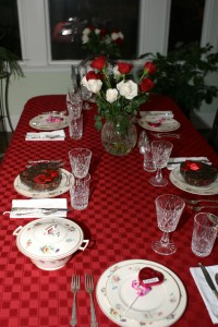 A table set with memories.