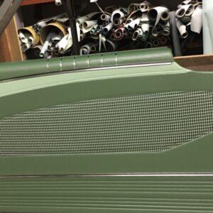 160 door panels green