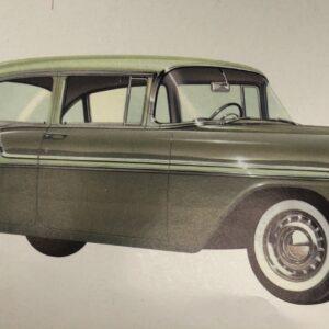 56 Bel Air 2/4 Dr Sedan