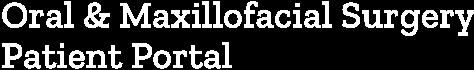 Oral & Maxillofacial Surgery Patient Portal Logo