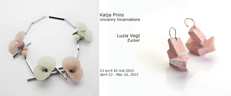 contemporary jewelry Luzia Vogt Katja Prins bijoux contemporains Montreal