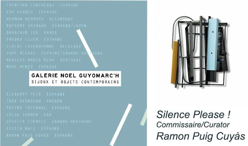 contemporary jewelry Ramon Puig Cuyàs Bijoux contemporains Montreal