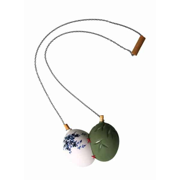 Shu-Lin Wu Porcelain Jewelry Bijoux en porcelaine