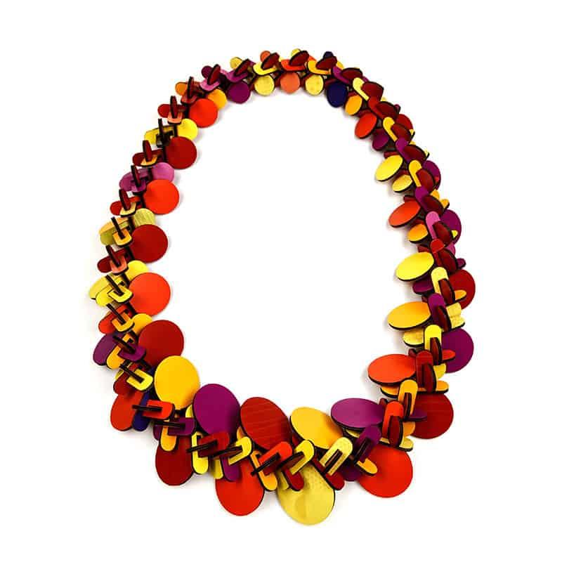 contemporary jewelry Rebecca Hannon bijoux contemporains Montreal