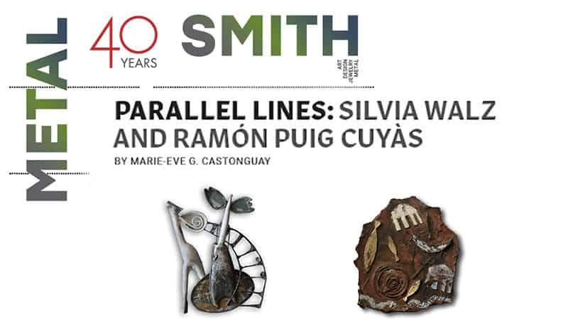 Metalsmith Ramon Puig Cuyas Silvia Walz