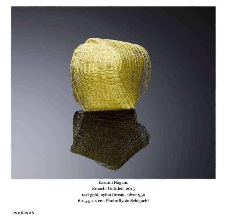 Contemporary Jewelry Klimt02 bijoux contemporains Montreal