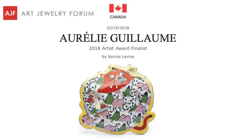 Contemporary Jewelry Aurelie Guillaume Art Jewelry Forum
