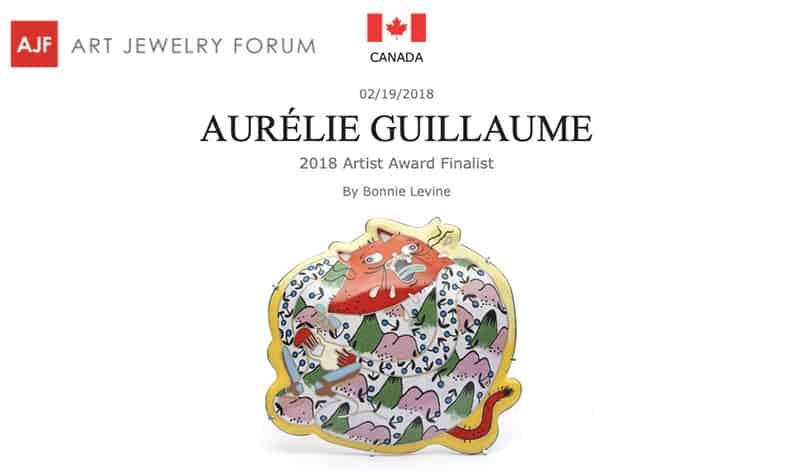 Contemporary Jewelry Aurelie Guillaume Art Jewelry Forum
