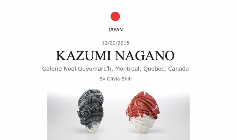 Contemporary Jewelry Kazumi Nagano Art Jewelry Forum