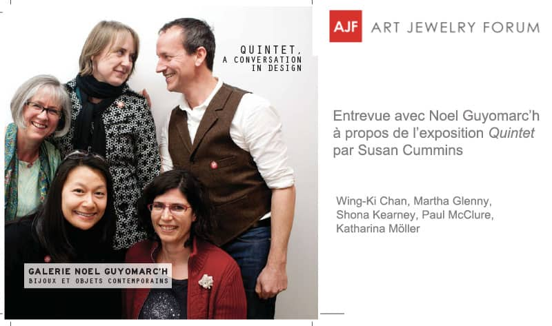 Contemporary Jewelry Quintet Art Jewelry Forum