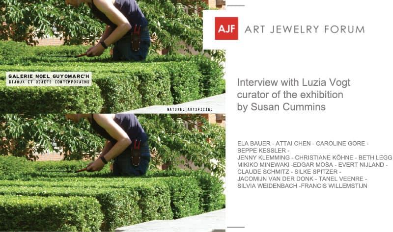 Contemporary Jewelry Art Jewelry Forum Luzia Vogt