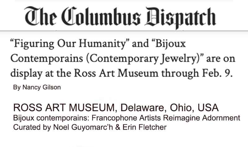Contemporary Jewelry Ross Art Museum The Columbus Dispatch