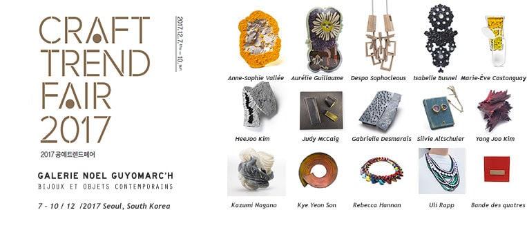 Korean Craft Fair Contemporary Jewelry