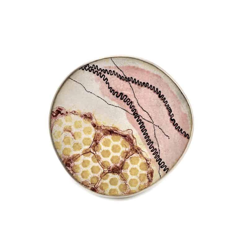 contemporary enamel jewelry Jamie Bennett bijoux contemporains en émail
