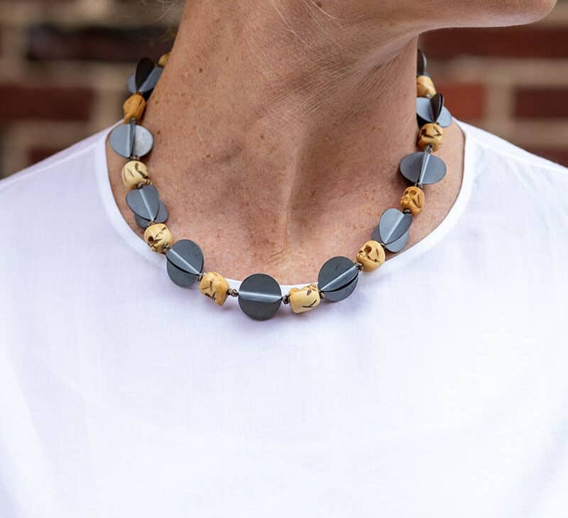 Contemporary Jewelry Necklace CollierBrooke Marks-Swanson - Topiary Circus
