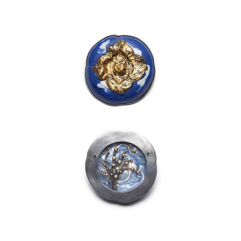 Bijoux en porcelaine de Catherine Granche
