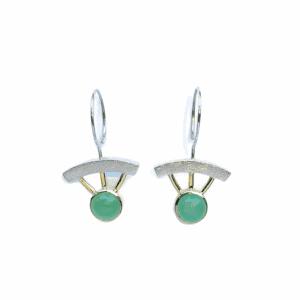 Bijoux boucles d'oreilles de Janis Kerman Design