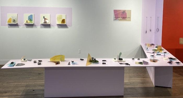 Installation Gabrielle Desmarais