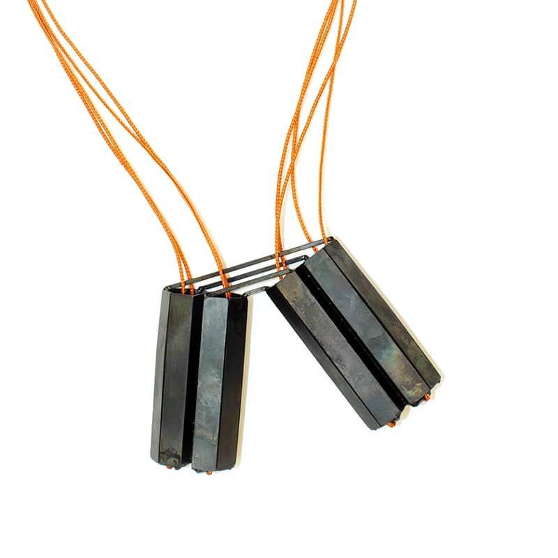 Steel jewelry By Cathryn Jasterzbski