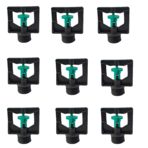ABH Siri Micro Water Sprinkler(Green),Pack of 9