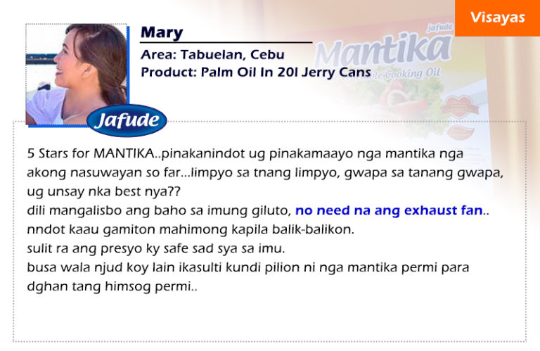jafude mantika palm oil bottle review and jafude corn oil review
