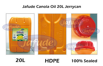 Jafude ChoicE Canola Oil 20L Jerrycan-Canola Oil Supplier and manufacturers in the Philippines