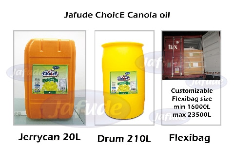 Jafude Canola Oil_Wholesale Philippines canola oil supplier in the Philippines_canola oil drum_canola oil flxibag_canola oil tin can