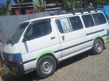 The Toyota HiAce (H100) is a light commercial van & Traveler Bus.