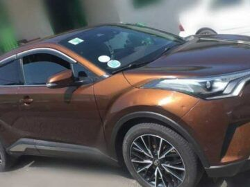 The Toyota C-HR (NGX10; facelift) is a subcompact crossover SUV produced.
