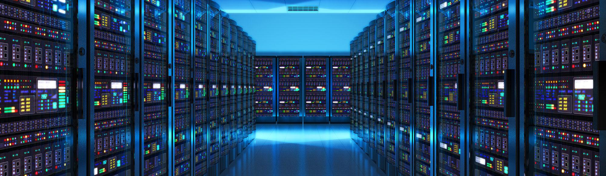 Clean Server Room