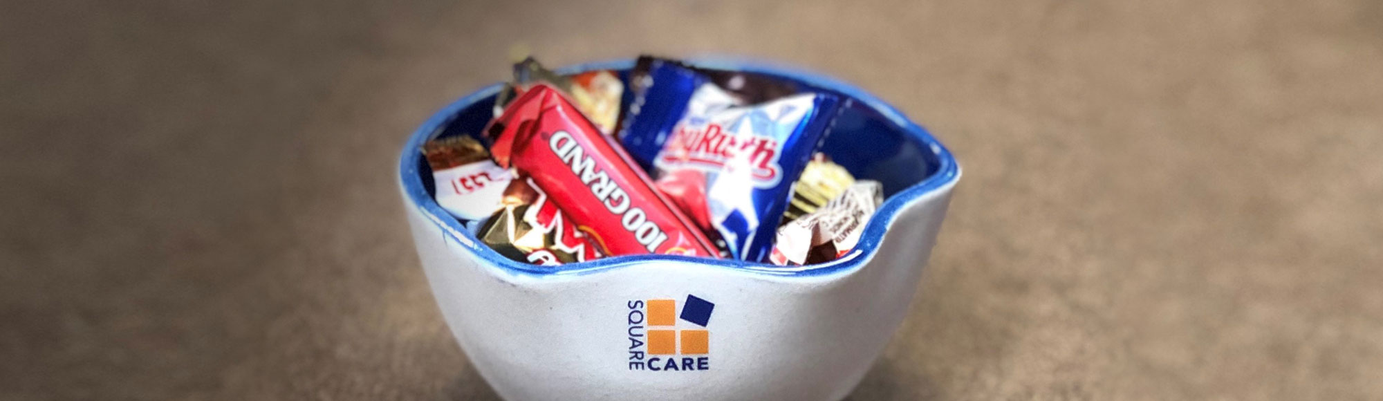 Square Care Candy Bowl