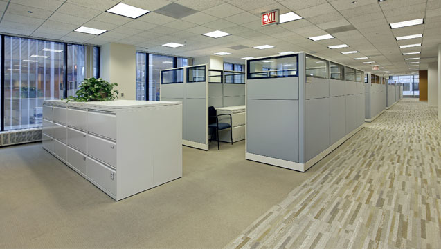 Clean Office Cubicles
