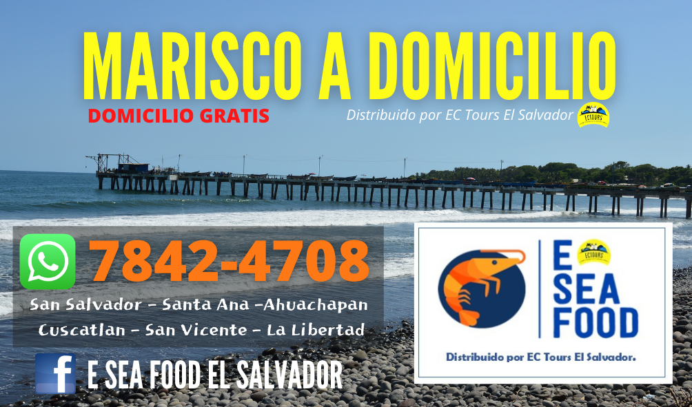 VENTA DE MARISCOS EL SALVADOR