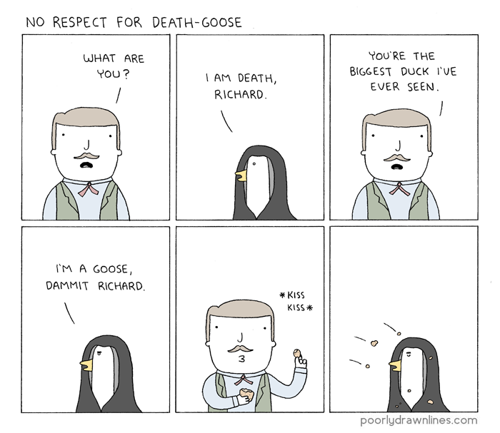 death-goose