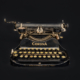 A Vintage typewriter circa 1910