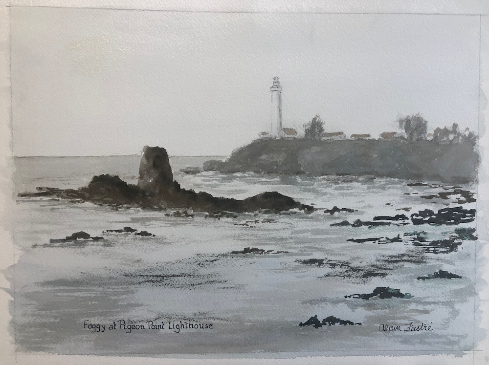 Foggy at Pigeon Point Lighthouse