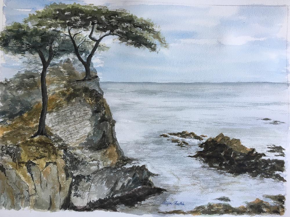 Lone Cypress 17 mile drive Monterey
