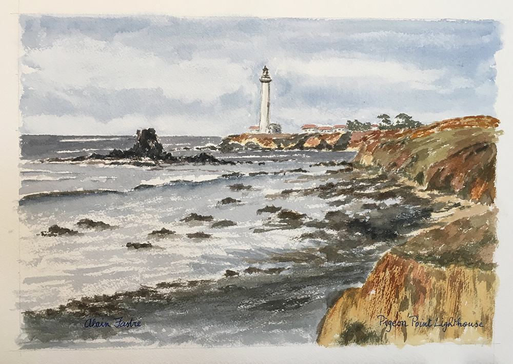 Pigeon Point Lighthouse South