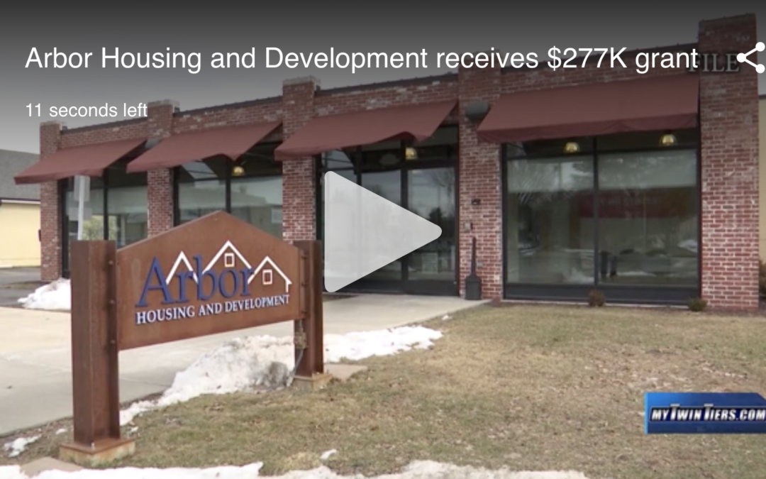 Arbor Housing and Development receives $277K grant (WETM)