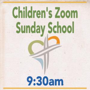 Ashland Church logo, Children's Zoom Sunday School 9:30am