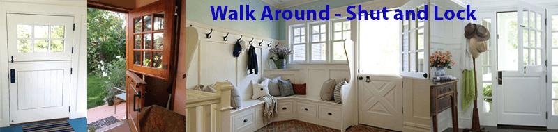 How to Keep Your Home Safe: Always do a walk around – Shut & Lock Up