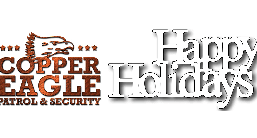 Be aware of your Surroundings – Copper Eagle Patrol & Security