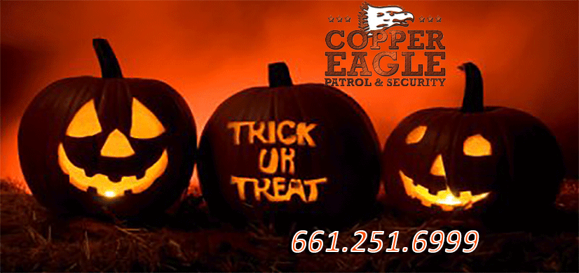 Halloween 2018 Less Tricks More Treats – Copper Eagle Patrol & Security