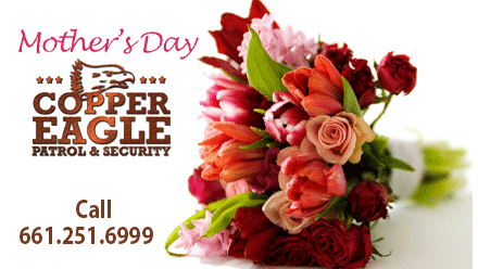 Copper Eagle Patrol & Security is in the Area! Mother's Day Too