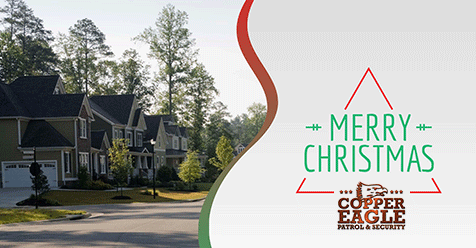 Warm Wishes for the Holiday Season from Copper Eagle Patrol & Security!