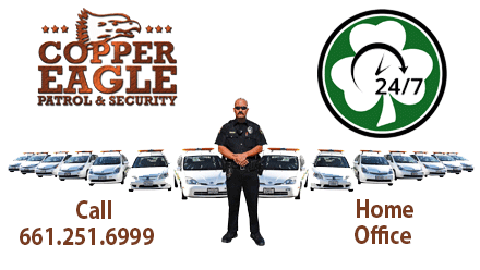 Be Safe – Be Responsible – Copper Eagle Patrol & Security